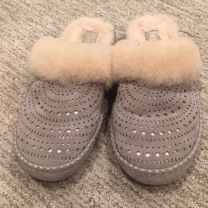 Ugg Faux Fur lined slippers